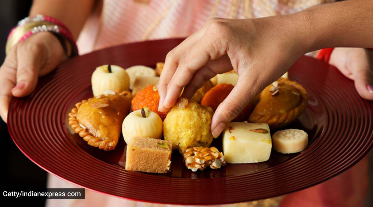 Ganesh Chaturthi 2021, Ganesh Chaturthi festive foods, healthy eating during Ganesh Chaturthi 2021, festive foods to avoid, unhealthy foods, diet and nutrition festive season, indian express news