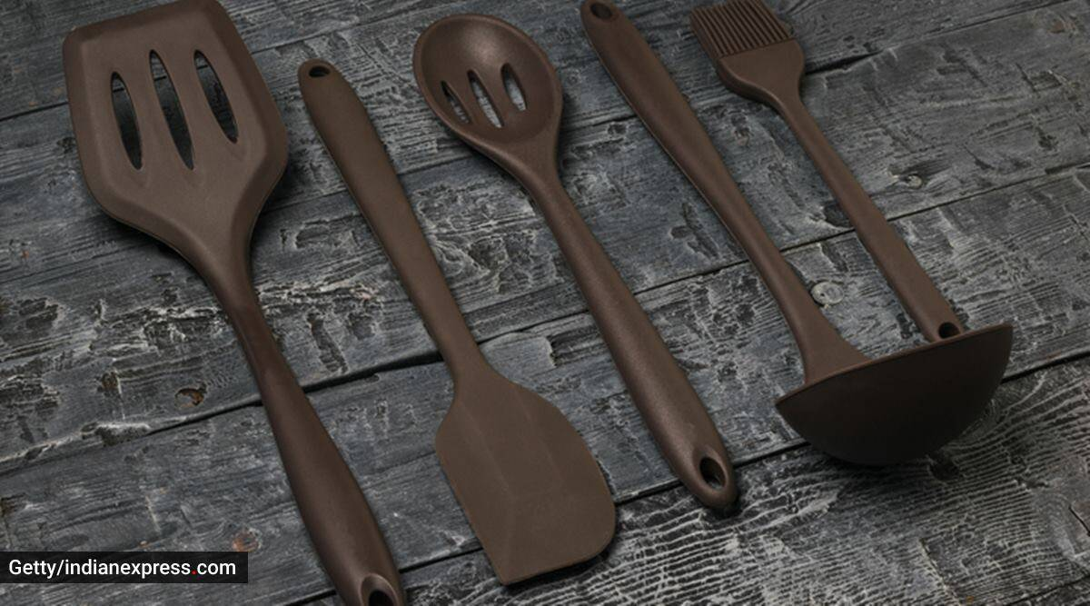 silicone cookware, what is silicone cookware, cooking, utensils, silicone cookware vs other cooking utensils, silicon and silicone, indian express news