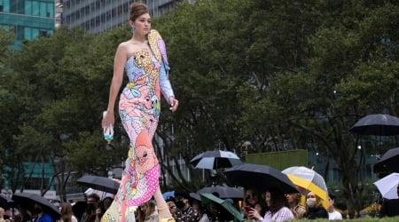Gigi Hadid, Moschino, Gigi Hadid New York Fashion Week,