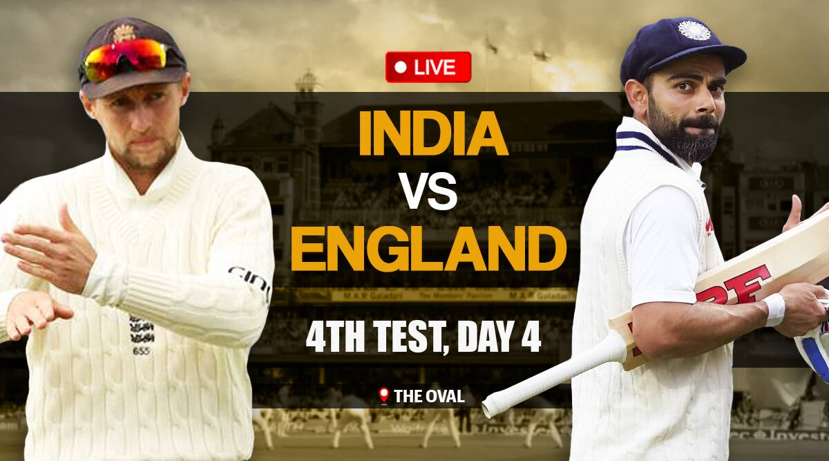 India vs England 4th Test, IND vs ENG 4th Test, Day 4 Live