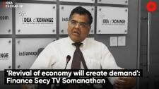 'Revival of economy will create demand': Finance Secy TV Somanathan