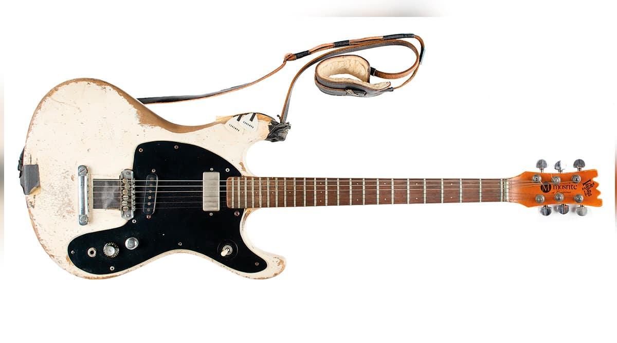 Johnny Ramone, Johnny Ramone guitar, Johnny Ramone guitar auction