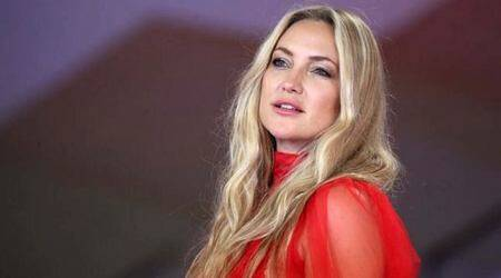 78th Venice Film Festival, Kate Hudson in Venice Film Festival, Kate Hudson fashion, Kate Hudson news, Kate Hudson gowns, indian express news