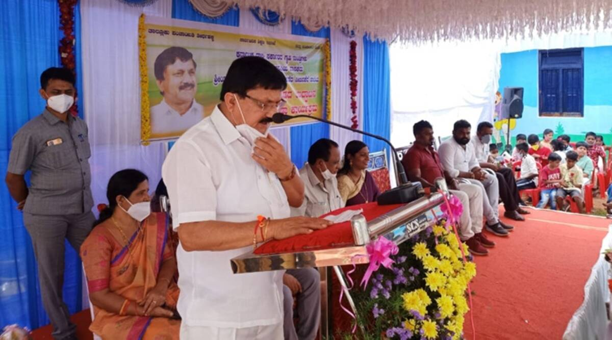 Araga Jnanendra, Karnataka Home Minister