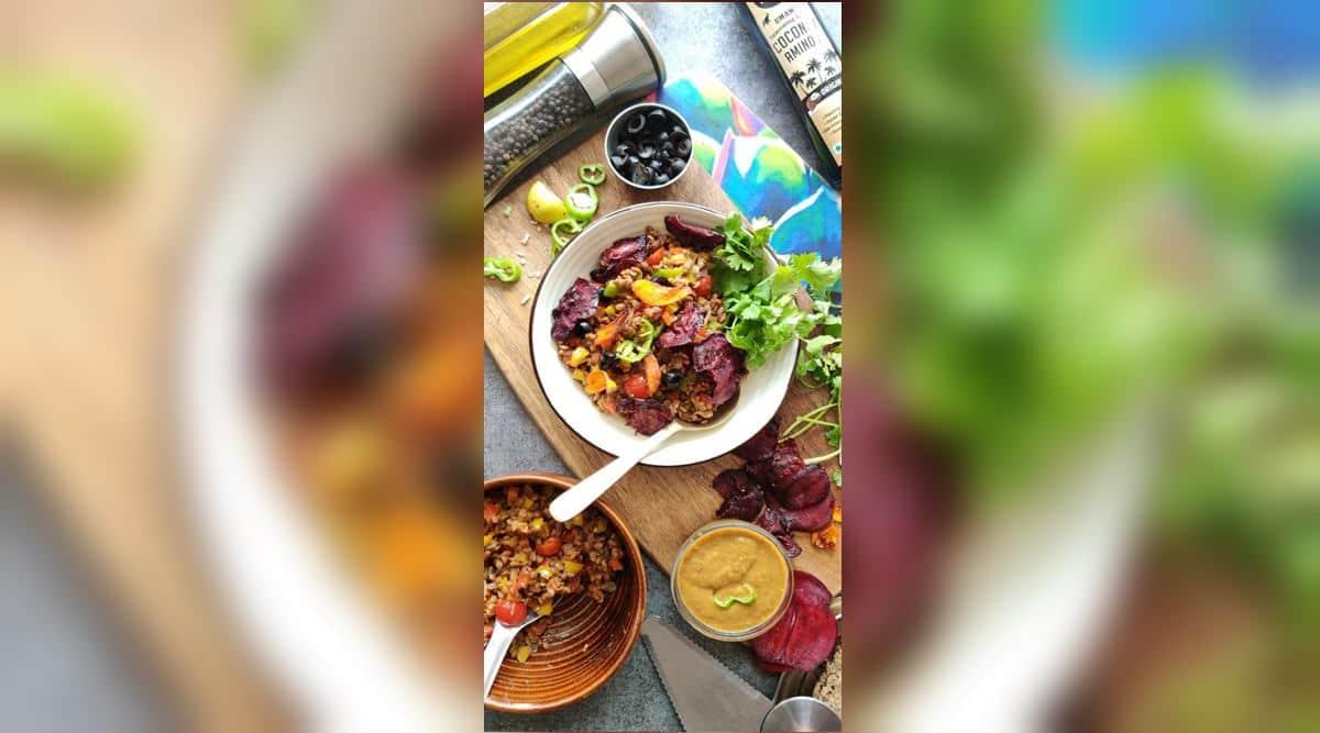 salad, salad recipes, heathy salad recipe, salad recipe to make at home, kulith salad, horse gram salad, healthy eating, millet recipes, indian express news