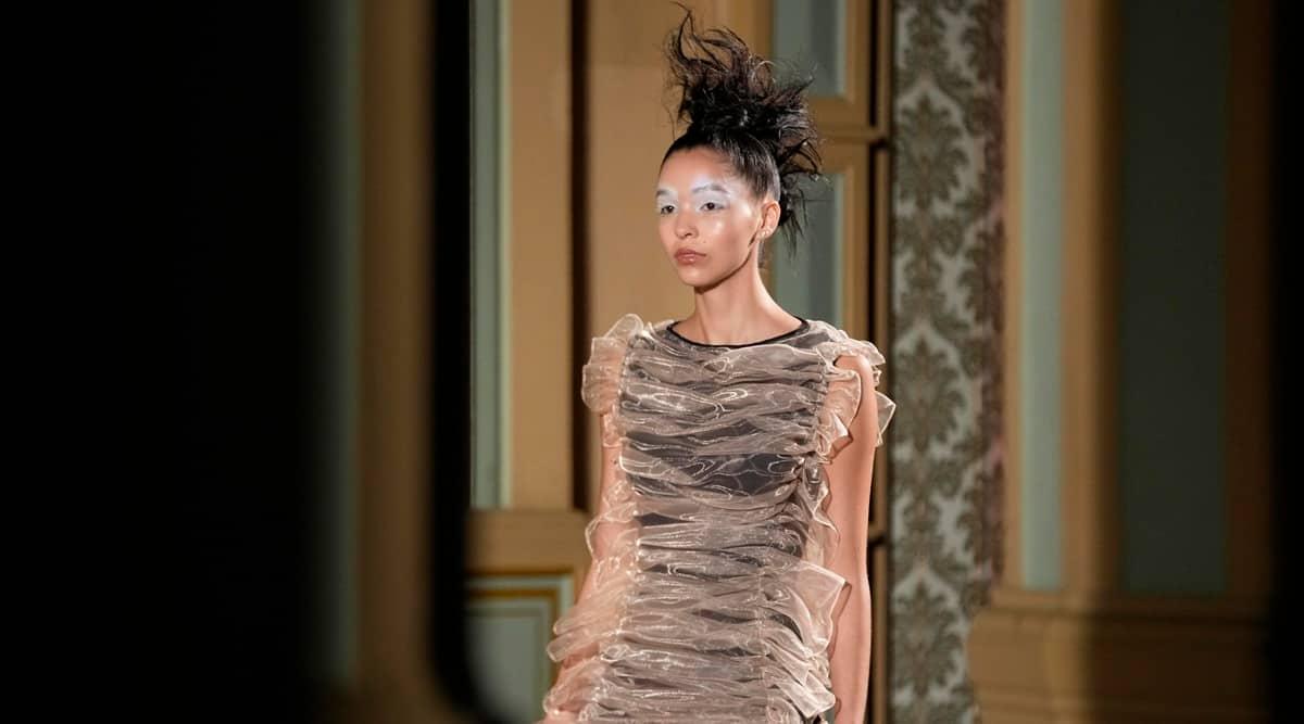 Liberatore, Milan fashion week, milan fashion week Liberatore show