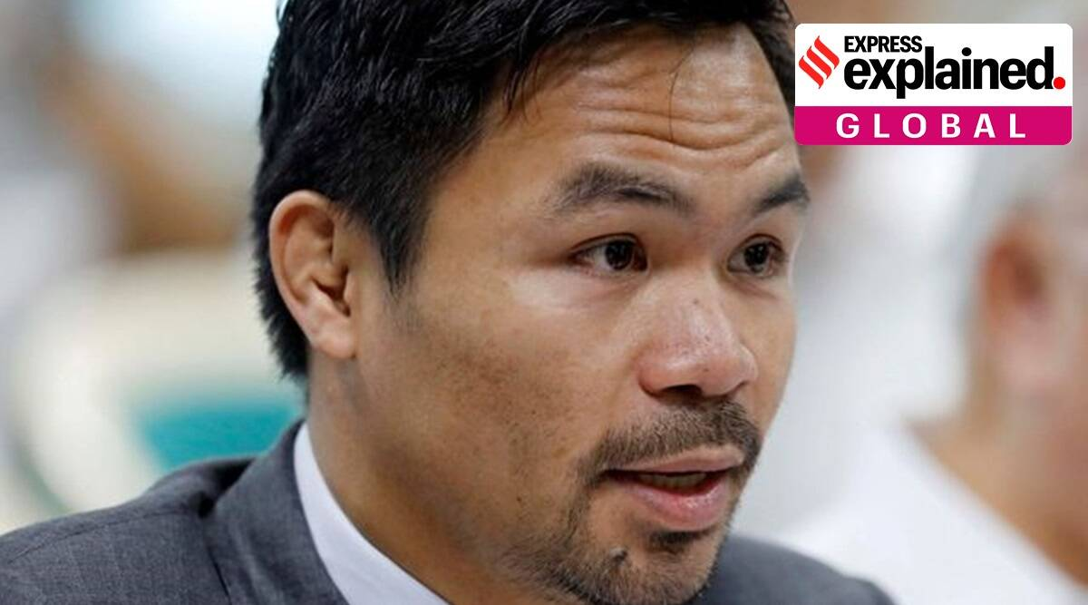 Manny Pacquiao, Manny Pacquiao Philippines elections, Philippines elections, Who is Manny Pacquiao, Indian Express