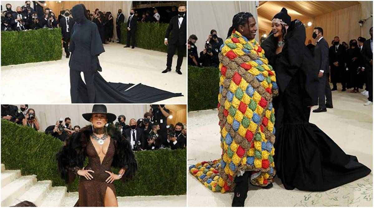 Met Gala 2021: Rihanna appeared with A$AP Rocky, Kim Kardashian and Jennifer Lopez rocked their outfits