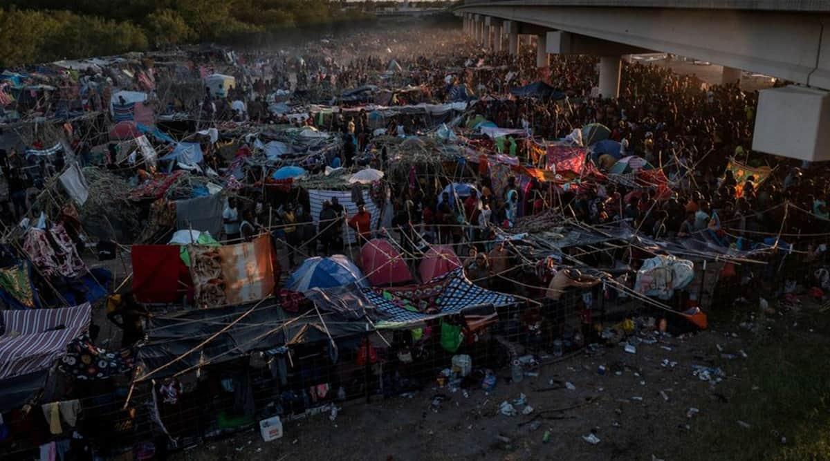 Texas, Migrants, Mexico, Del Rio, Joe Biden, Biden, Del Rio Border crises, Indian express, Indian Express news, World news, current affairs