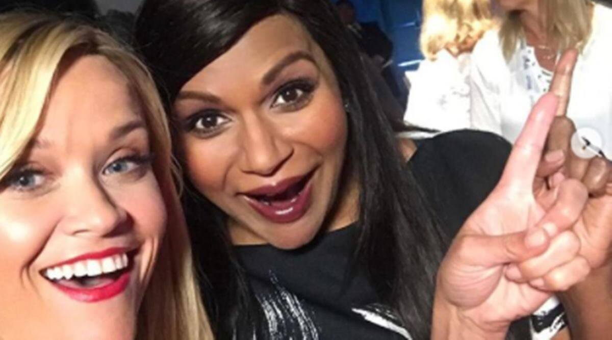 Mindy Kaling, Mindy Kaling news, Mindy Kaling parenting, Mindy Kaling children, Mindy Kaling and Reese Witherspoon, celeb moms, parenting advice, parenting, indian express news