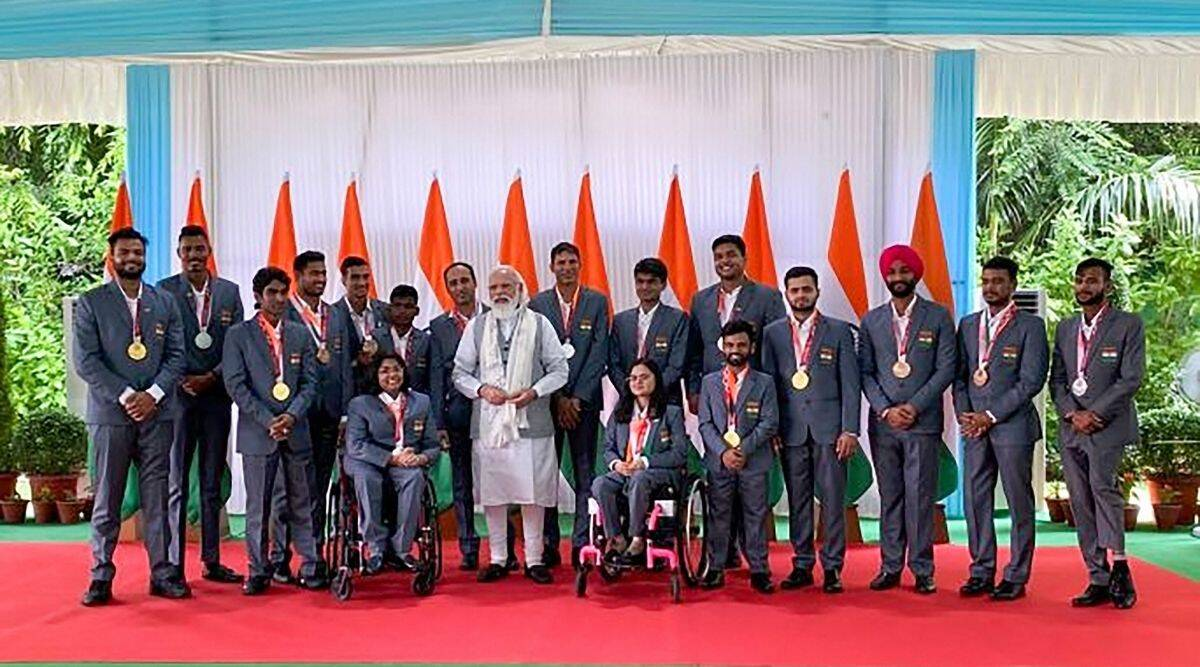Modi, Para athletes