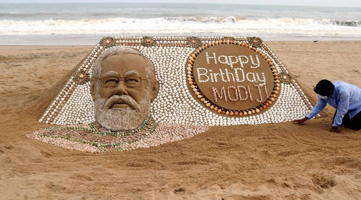 Prime Minister of India, Narendra Modi Turned 71 Today on his Birthday