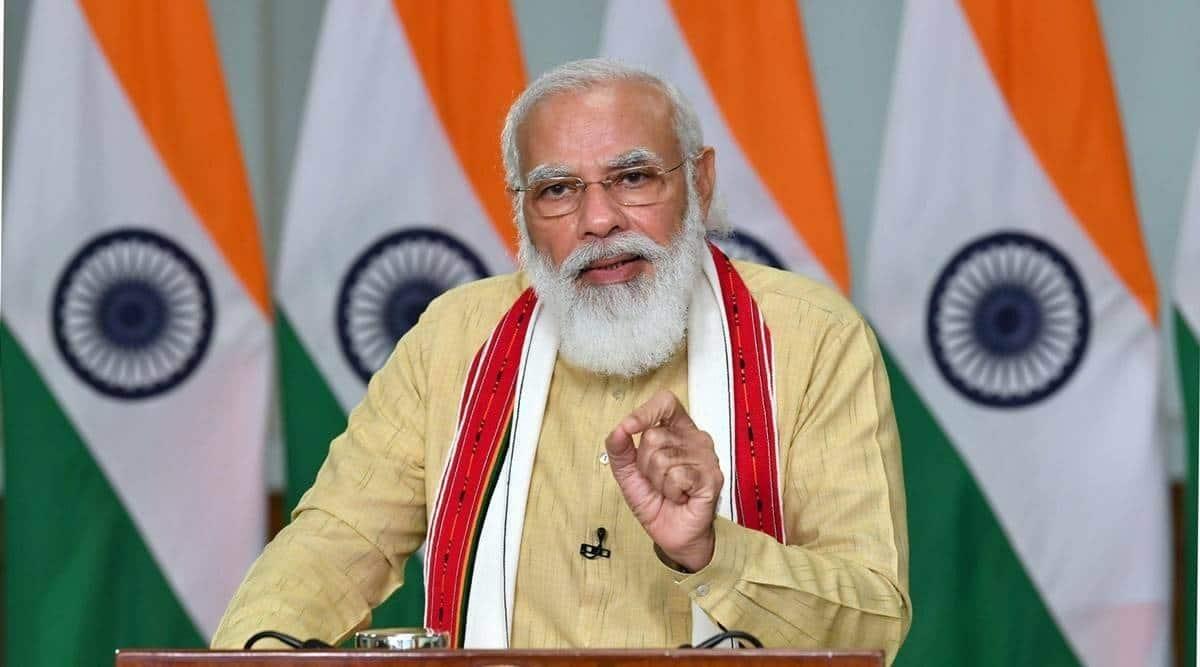 Narendra Modi, PM Modi on climate change, ecosystem, PM Modi address, NEP, International market, Indian Millet, India news, Indian express