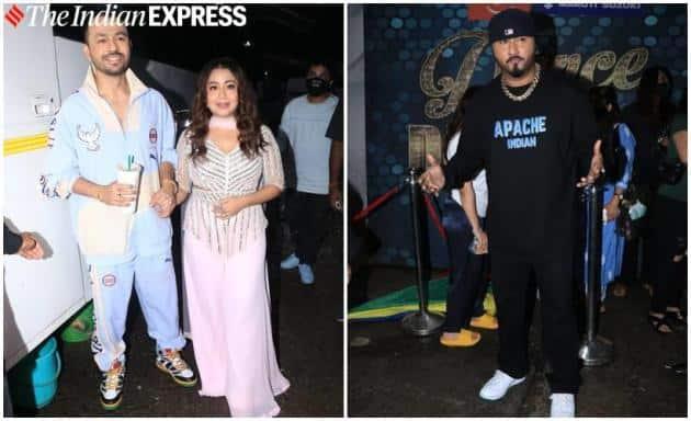 Neha Kakkar, Tony Kakkar and Honey Singh