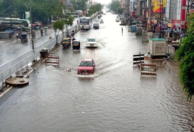 Odisha rain, Pune rain, delhi rain, Gujarat rain, rajkot rain, Monsoon, indian express, indian express news