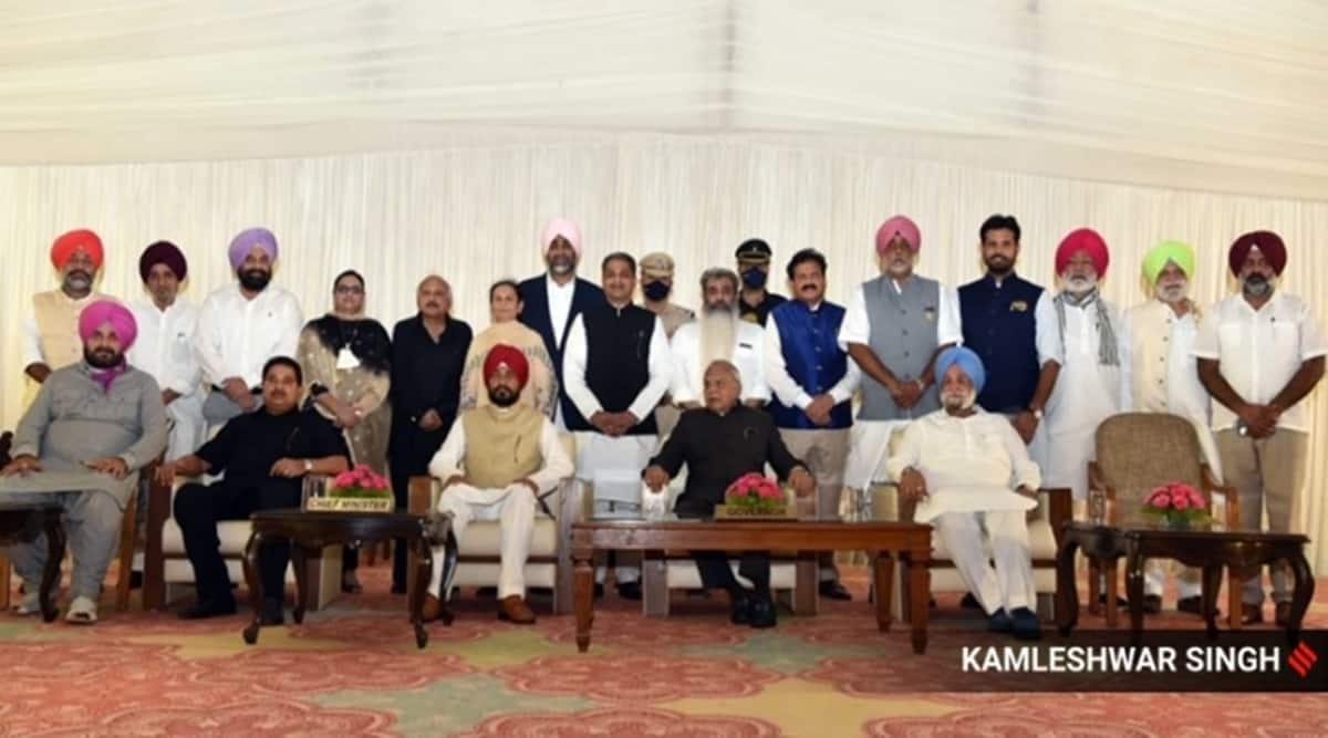 Punjab cabinet, Punjab ministers