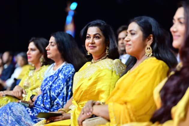 Radhika and Suhasini