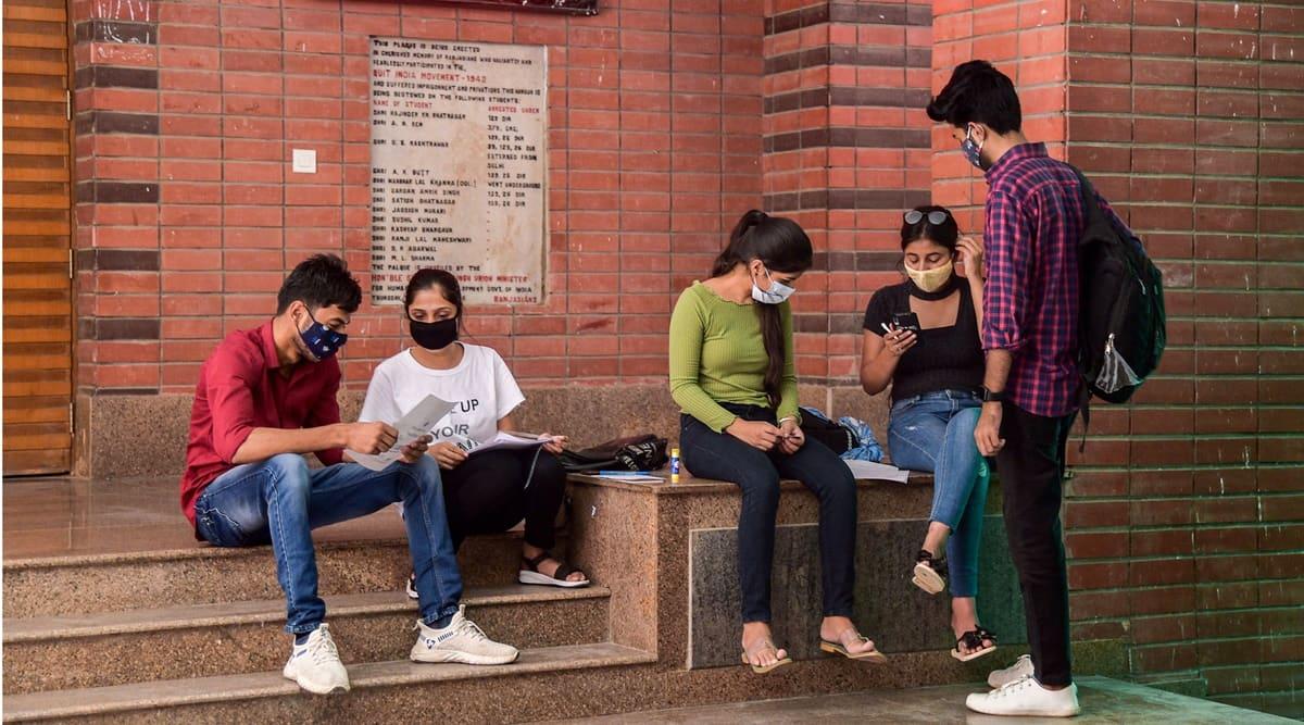 First DU cut-off, Du cut off list, Delhi University, Delhi news, DU admissions 2021, Du cut off list 2021, Delhi news, Indian express