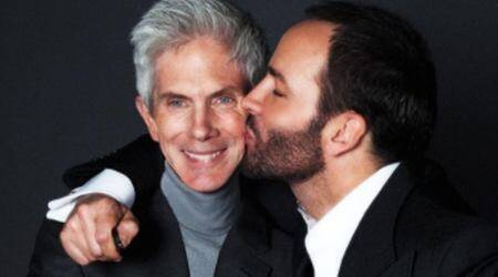 Tom Ford, Tom Ford husband, Tom Ford and Richard Buckley, Richard Buckley death, Richard Buckley news, Richard Buckley, indian express news