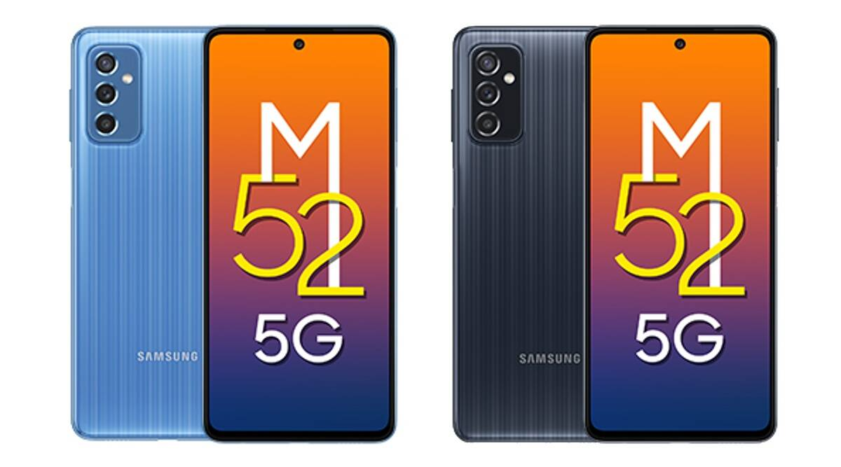 Samsung Galaxy M52 5G, Samsung Galaxy M52 launched, Samsung Galaxy M52 launched in india, Samsung Galaxy M52 price in india, Samsung Galaxy M52 price, Samsung Galaxy M52 features, Samsung Galaxy M52 specs, Samsung Galaxy M52 india launch, 5g phone, samsung phone, phones under rs 30000