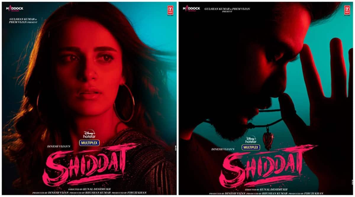 shiddat poster radhika madan