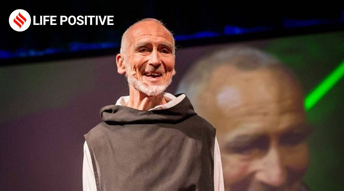 David Steindl-Rast, David Steindl-Rast TED Talk, TED Talks, Happiness, Gratefulness, How to be happy, Happiness videos, Gratefulness videos, TED videos, TED talk videos, life positive, indian express news