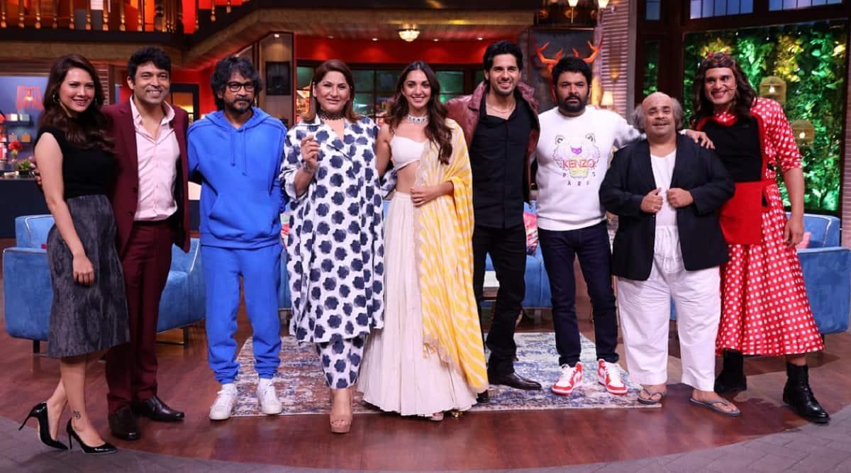 kapil sharma show shershaahsidharth malhotra kiara advani