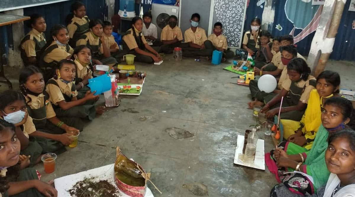 Hyderabad schools, Telangana schools, Covid-19, Schools reopening, Telangana schools reopen, Telangana school dropouts, Telangana news, India news, Indian express