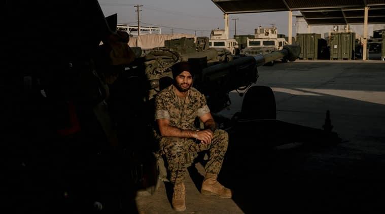 Lt Sukhbir Singh Toor, Sikh Marine, Sikh Marine turban, Sikh Marine turban case, US Marines, Indian Express