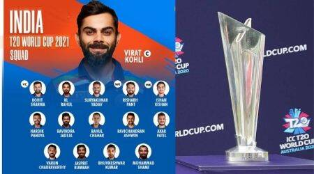 India team for T20 world cup