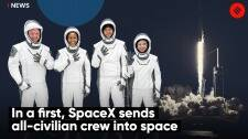 In A First, SpaceX Sends All-Civilian Crew Into Space