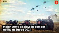 Indian Army Displays Its Combat Ability At Zapad 2021; China, Pak observers