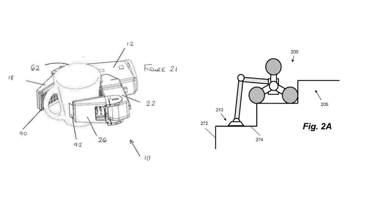 Dyson robot, Dyson vaccum robot, Dyson patented designs, Dyson home robot, Dyson robot patent, Dyson stair climbing robot,