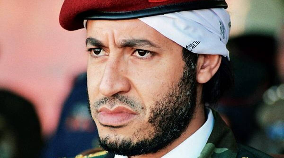 Officials: Gadhafi son freed after 7-plus years in detention
