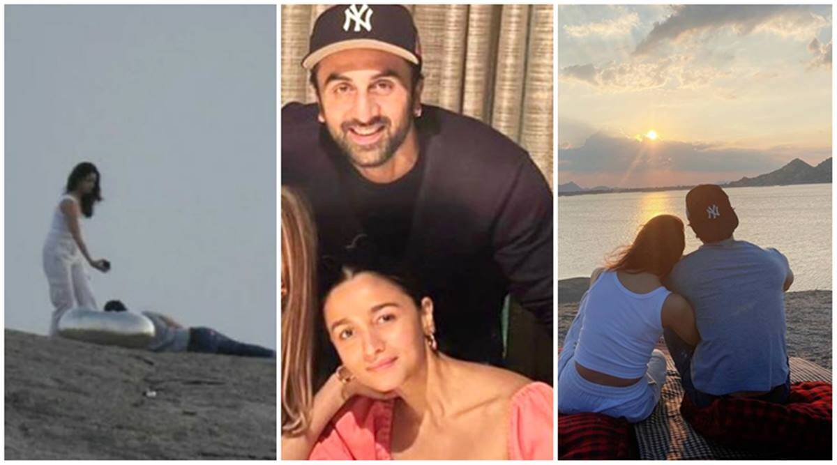 Ranbir Kapoor-Alia Bhatt spend his birthday at luxurious Rs 1.65 lakh per night retreat, photos from lakeside picnic go viral | Entertainment News,The Indian Express