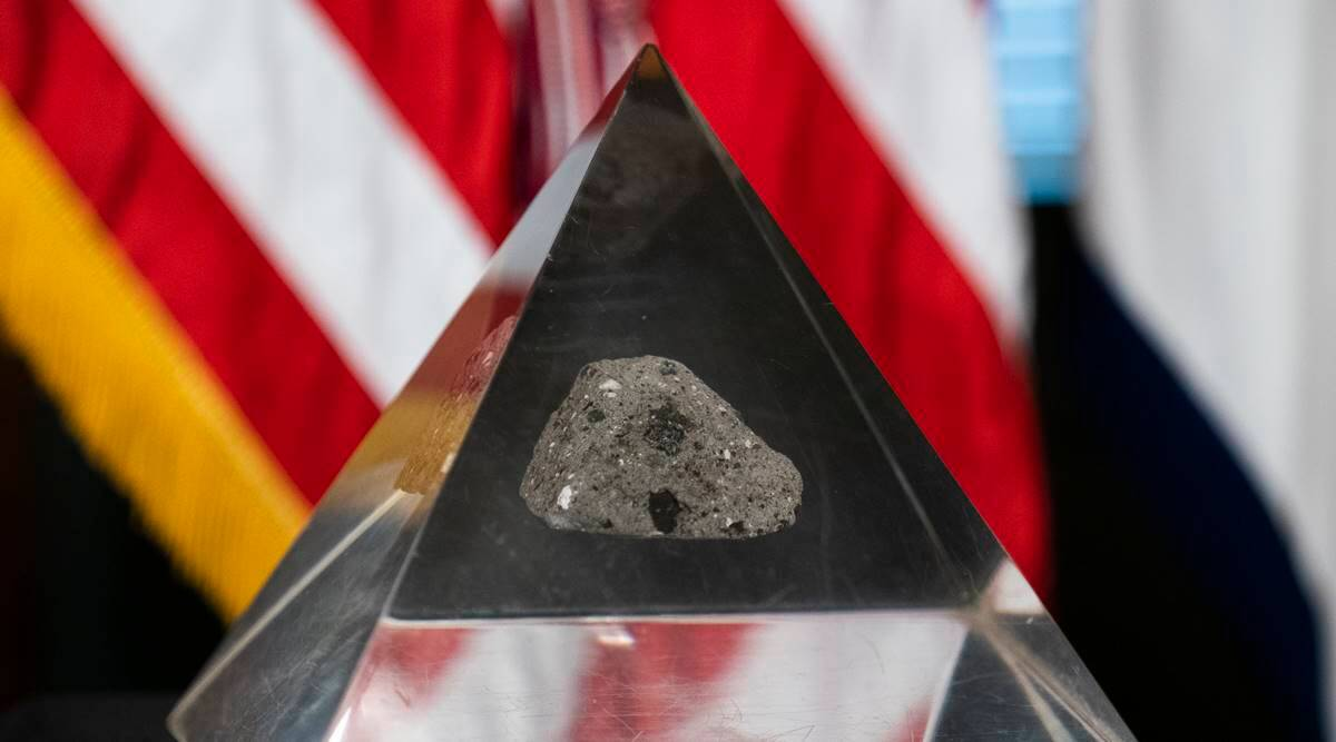Moon Rock Recovered