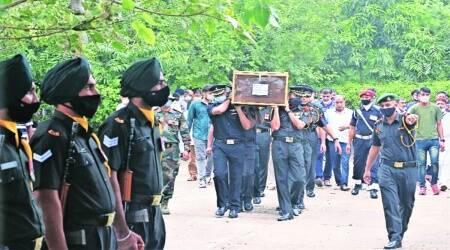 'Bravest of the brave': P'kula's son Major Anuj Rajput laid to rest with full military honours