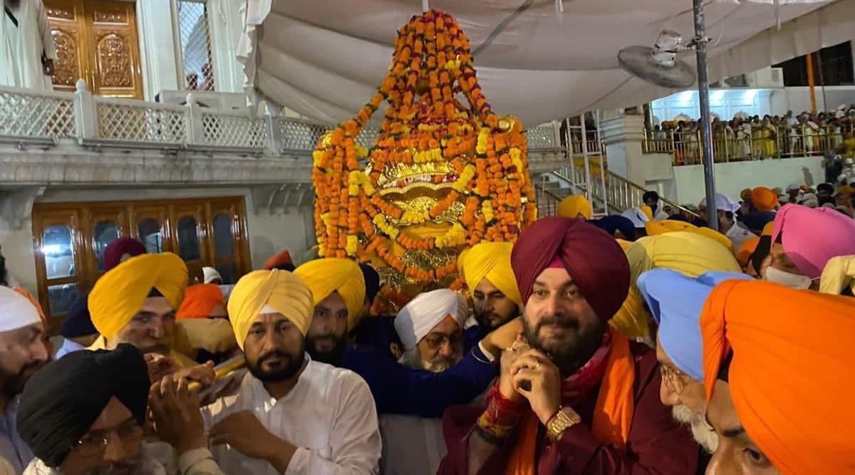Punjab CM, Charanjit Singh Channi, Navjot Singh Sidhu, Punjab government, Punjab communal harmony, Punjab religion, Punjab news, Golden temple, India news, Indian express