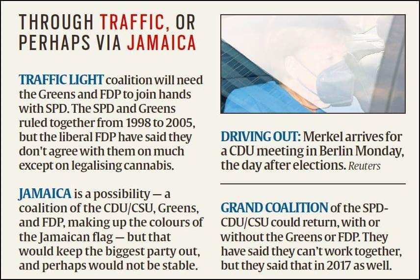 Angela Merkel, Germany elections, German election results, Angela Merkel era, Germany India relations, Indian Express