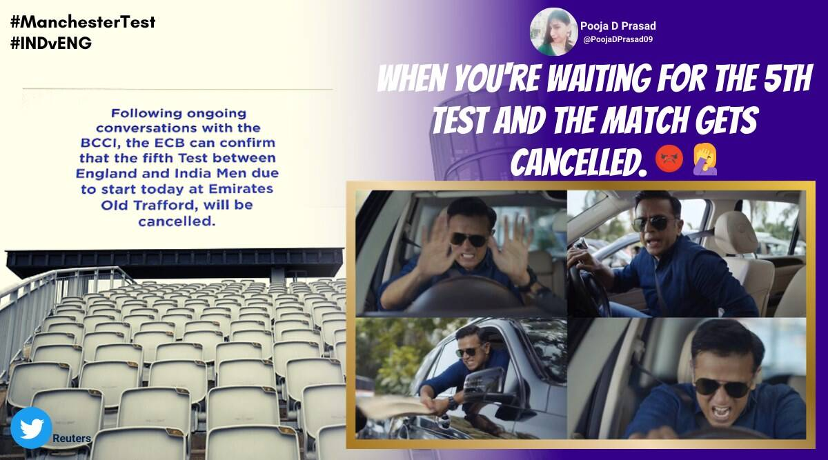 india vs england, Manchester test, ind vs eng fifth test, fifth test cancelled, manchester test called off, india england series cancel, cricket news, sports news, indian express