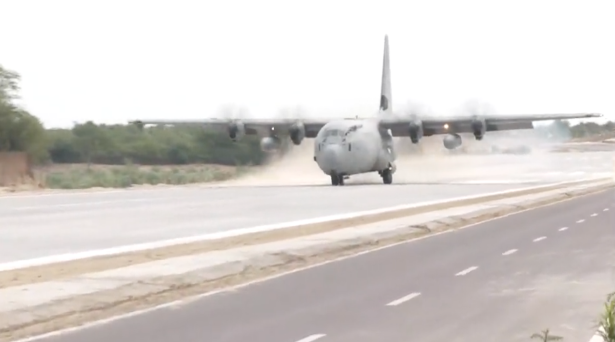 India's First National Highway To Be Used For Emergency Landing Of Indian Air Force Aircraft