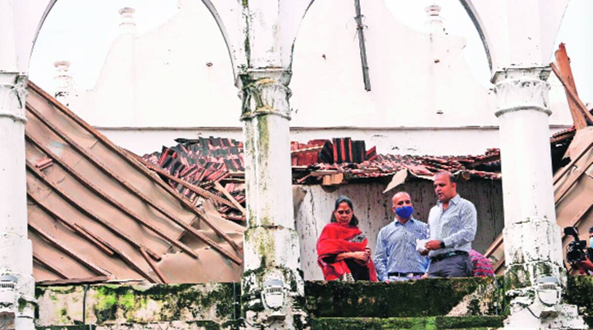 Lehripura Gate slab collapse: ASI didn't issue completion certificate, says VMC; Opp seeks probe