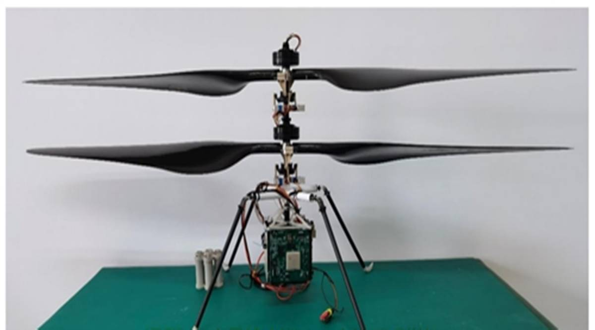China Developed a Prototype Helicopter Miniature for Mars Missions