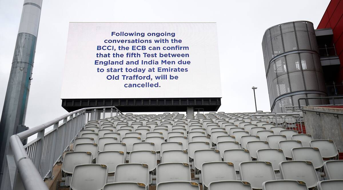 Fifth Test called off