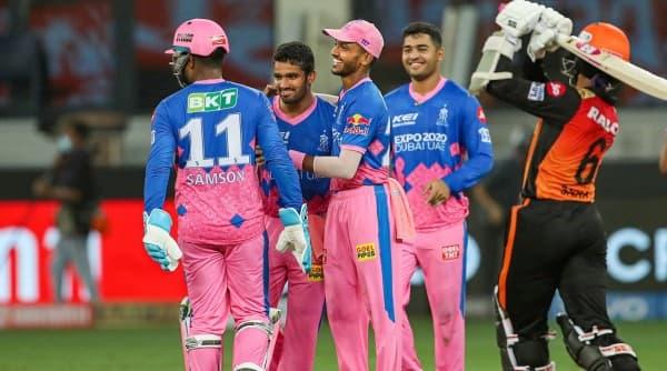 IPL, IPL 2021, SRH vs RR, Kane Williamson, IPL news, IPL table, Sunrisers Hyderabad, Indian Express