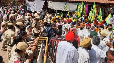Heavy police deployment outside Jallianwala Bagh after Left-backed organisations protest renovations