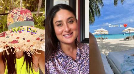 kareena kapoor khan vacation pics