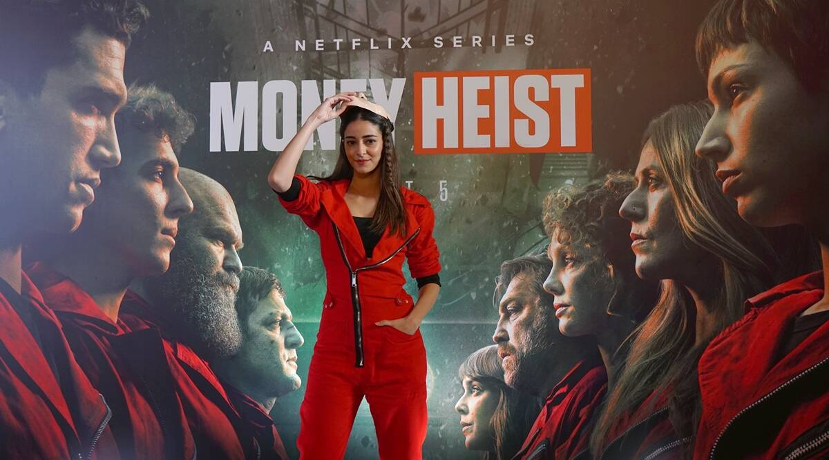 Money Heist gets a fan in Ananya Panday: 'I love Denver and Nairobi, would want to play Tokyo'