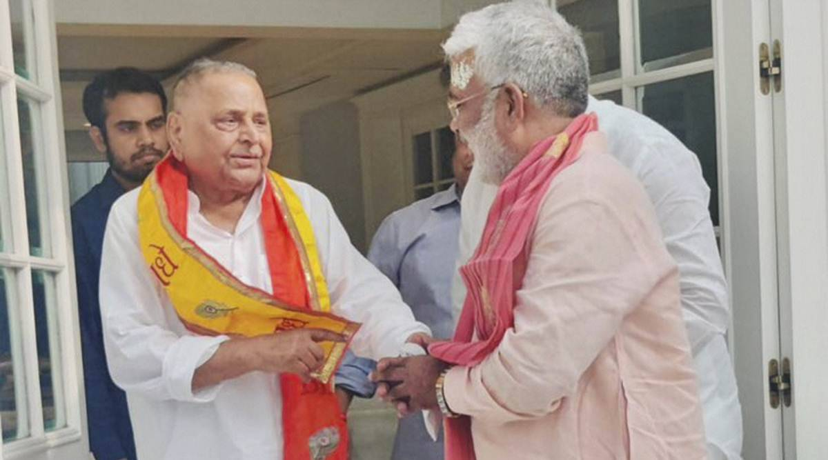 In BJP's push for OBC outreach, its UP chief calls on Mulayam