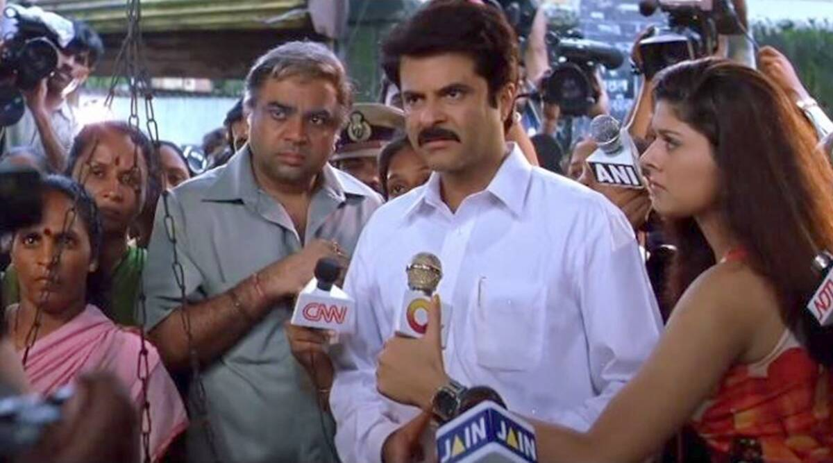 Nayak turns 20: When Anil Kapoor refused to shave his body hair, adopted  Rajinikanth's real name | Entertainment News,The Indian Express
